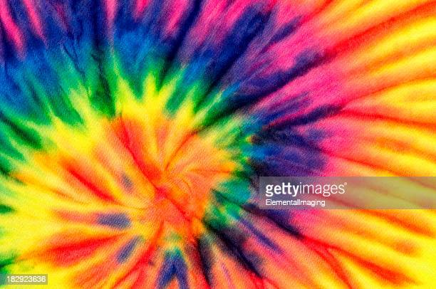 Colorful Swirl Tie Dye Background Pattern or Texture