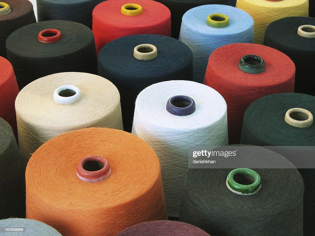 Colorful Textile : Stock Photo