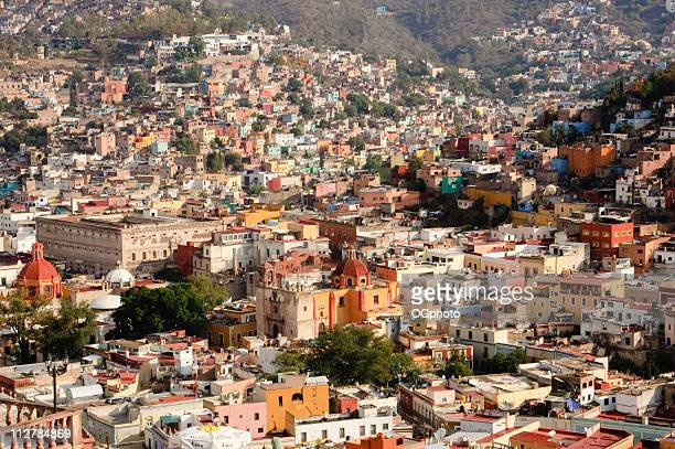 colorful town of guanajuato, mexico - ogphoto stock pictures, royalty-free photos & images