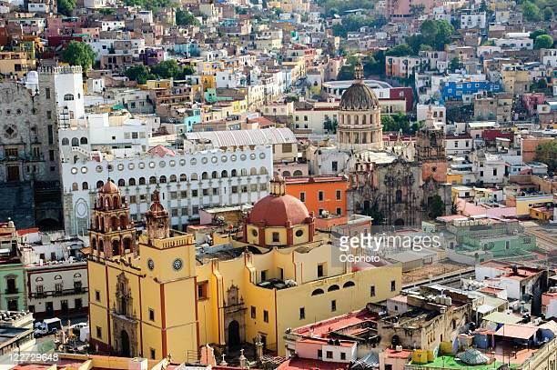 farbenfrohe stadt guanajuato, mexiko - ogphoto stock-fotos und bilder