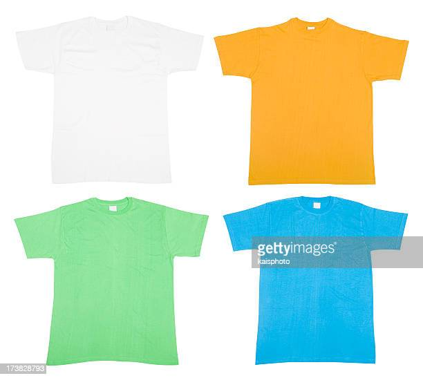 カラフルな Tシャツ