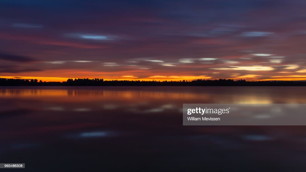 Colorful Twilight : Stockfoto