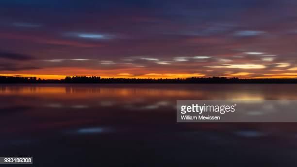 colorful twilight - william mevissen imagens e fotografias de stock