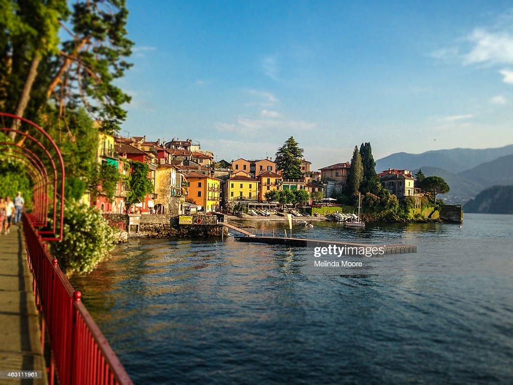 Colorful Varenna Italy : Stock Photo