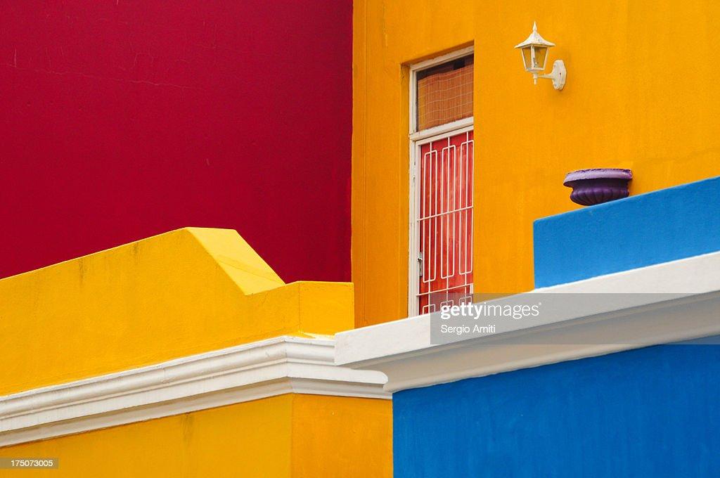 Colorful walls : Foto de stock