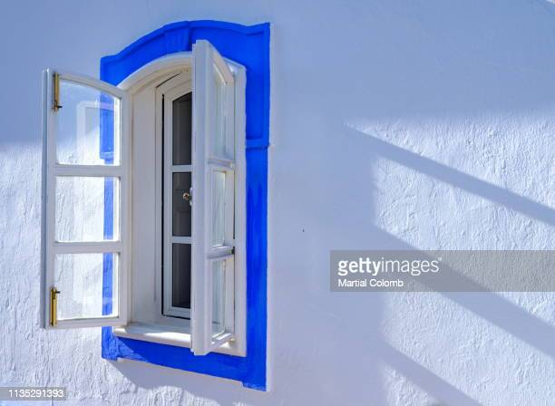 colorful window of a portuguese house - martial stock pictures, royalty-free photos & images