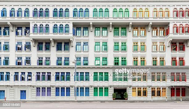 Colorful windows, Singapore