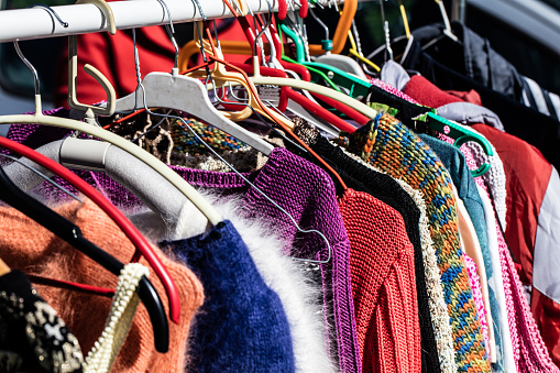 colorful women's sweaters for second life at flea market 534114588