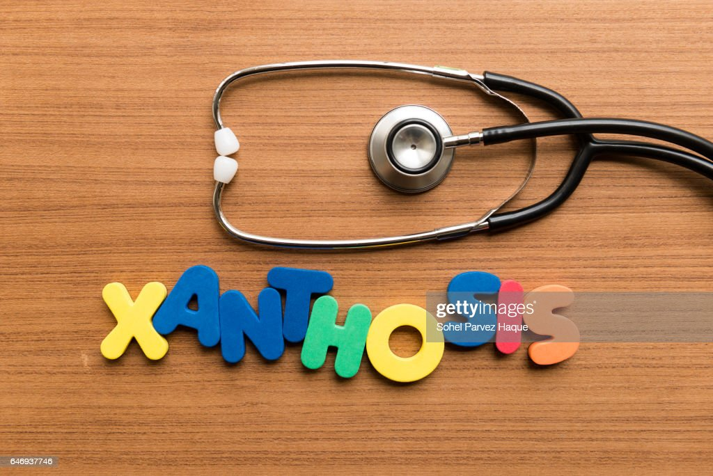 colorful word on wooden background : Stock Photo