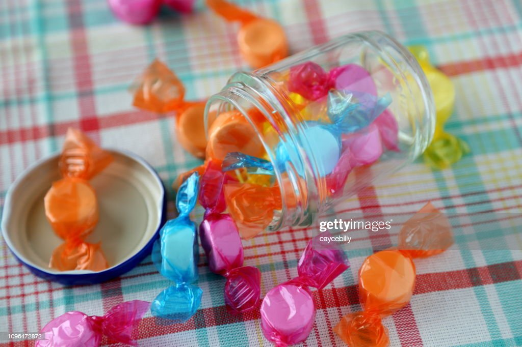 Colorful wrapping paper ramune : Stock Photo