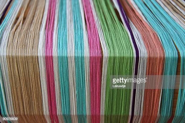 colorfull 紡績糸中米スタイルに織機