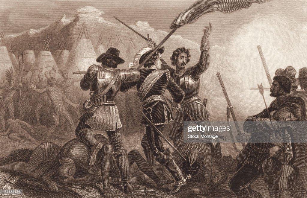 'The Pequot War' : ニュース写真