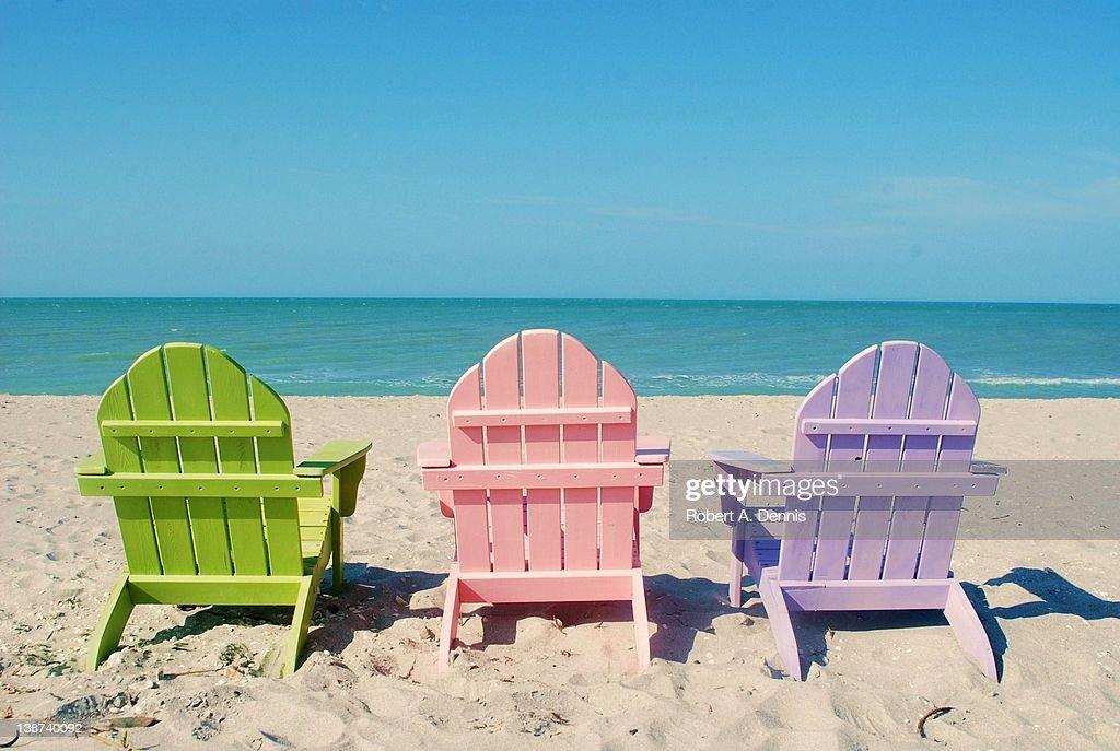 Colors of captiva beach : Stock Photo