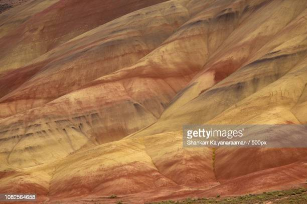 colors of time - fossil site stock pictures, royalty-free photos & images