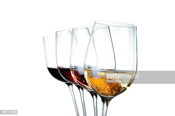 colors of wine - wine glass stock pictures, royalty-free photos & images