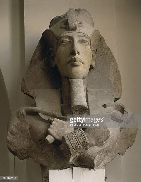 Colossal bust of Akhenaton