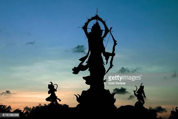 Colossal statue of Rama, Denpasar, Bali Indonesia