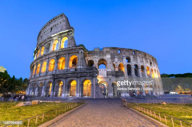 Colosseum at blue huor!
