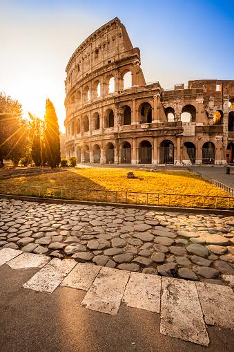 Colosseum at sunrise, Rome, Italy 927593192