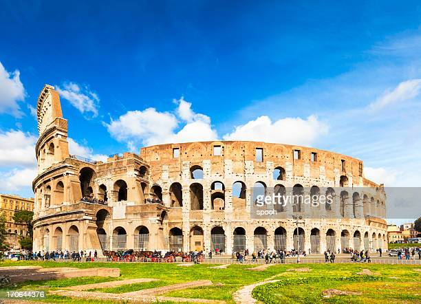 colosseum in rome, italy - colosseum stock pictures, royalty-free photos & images