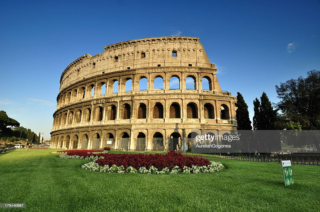 Colosseum in Rome, Italy : Stock Photo
