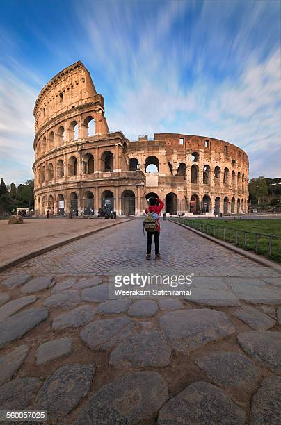 colosseum in rome, italy - coliseum rome stock photos and pictures