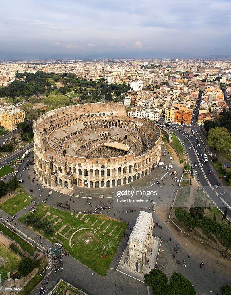 Colosseum in Rome : Stock Photo