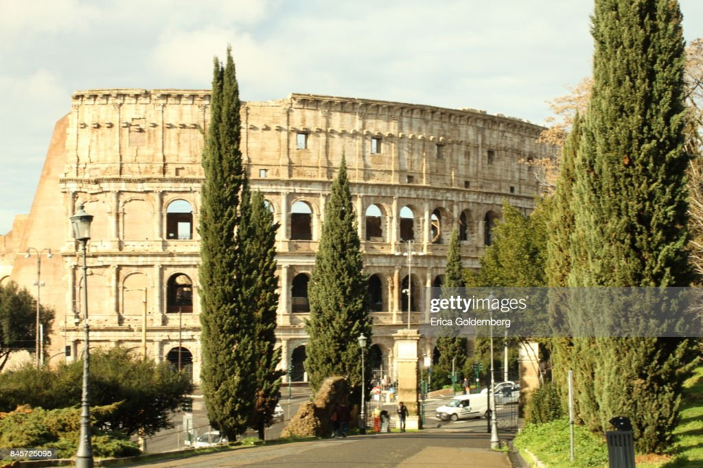 Colosseum Coliseo Romano Stock Photo Getty Images