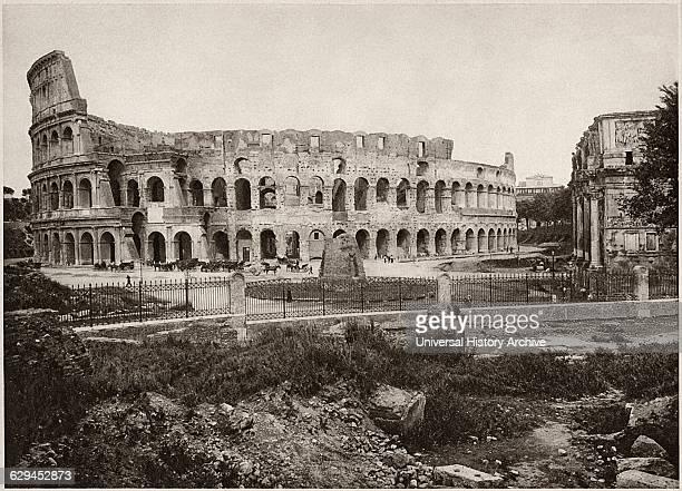 Colosseum Rome Italy circa 1900