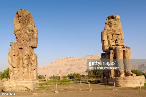 Colossi of Memnon, Luxor, Egypt.