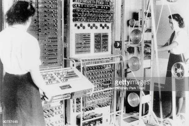 Colossus was the world's first electronic programmable computer at Bletchley Park in Buckinghamshire Bletchley Park was the British forces'...