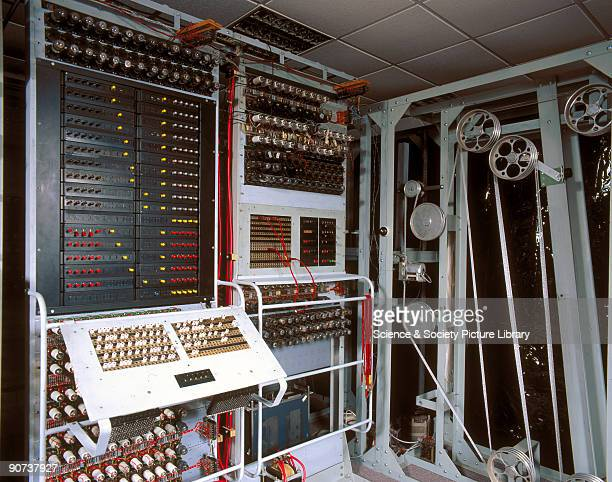 'Colossus' was the world's first electronic programmable computer Bletchley Park was the British forces' intelligence centre during World War II...