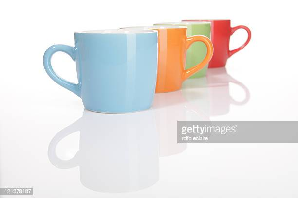 Colouful cups