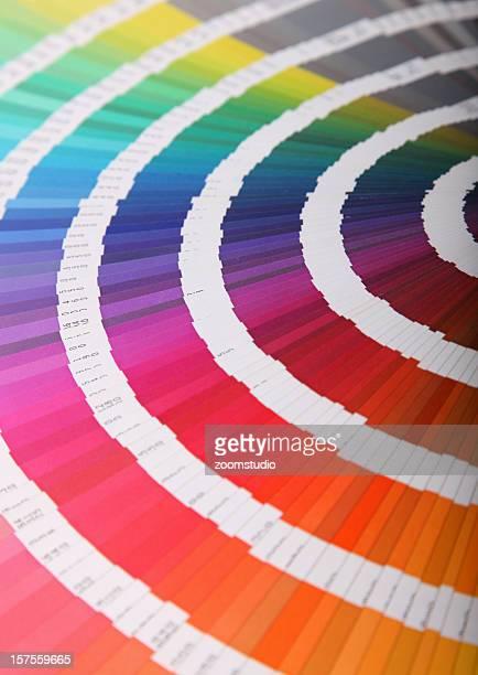 Colour guide - pantone swatch book