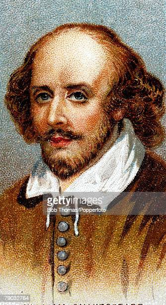 Colour illustration Literature William Shakespeare English dramatist and poet