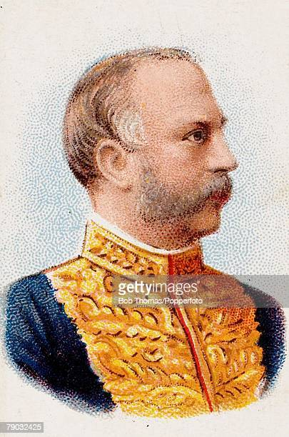Colour Illustration Lord Balfour of Burleigh the Secretary of Scotland and British Prime Minister from 1902 to 1905