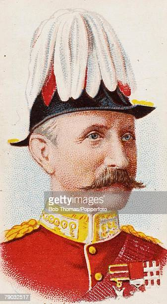 Colour Illustration Military Major Gen Sir WP Symons KCB