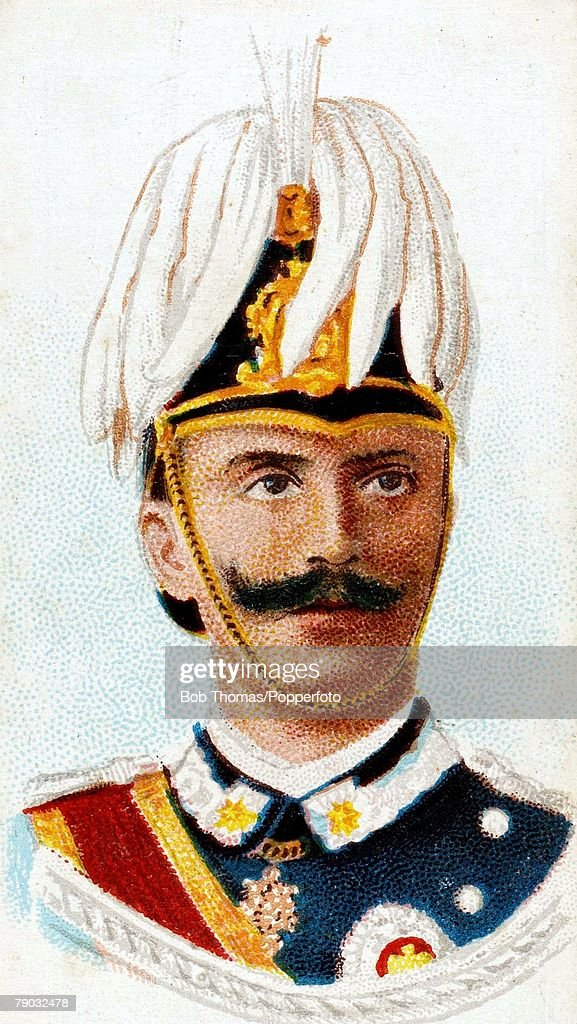 Colour illustration, Royalty, Victor Emmanuel III, King of Italy, (1869-1947), King from 1900 until his abdication in 1946