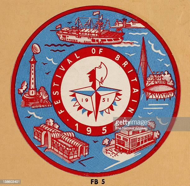 Colour logo for the Festival of Britain 1951