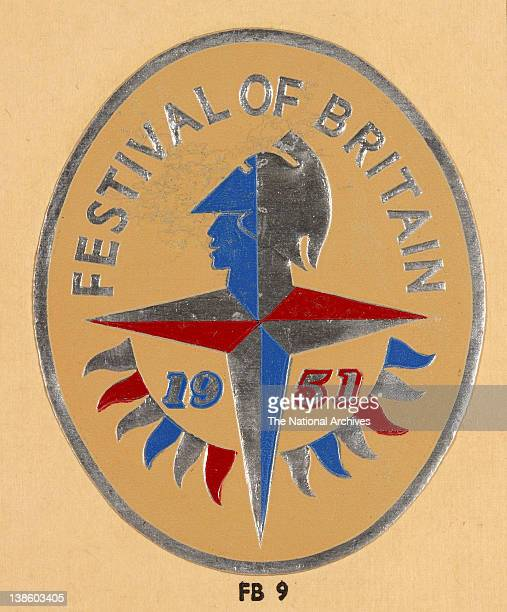 Colour logo for the Festival of Britain designed by Abram Games 1951