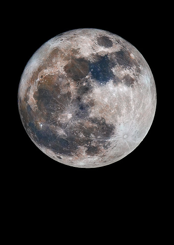 Colour Moon - gettyimageskorea