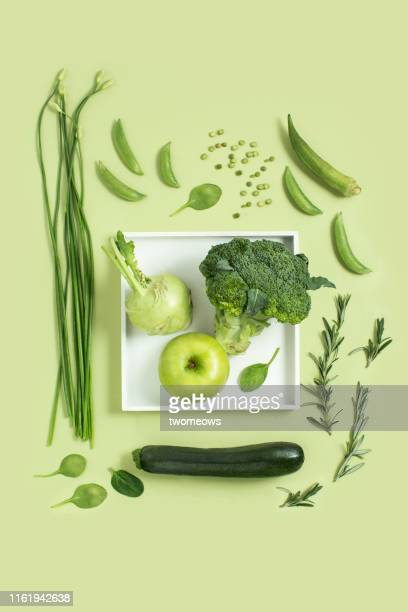 colour of food concept still life. - apple fruit stock pictures, royalty-free photos & images
