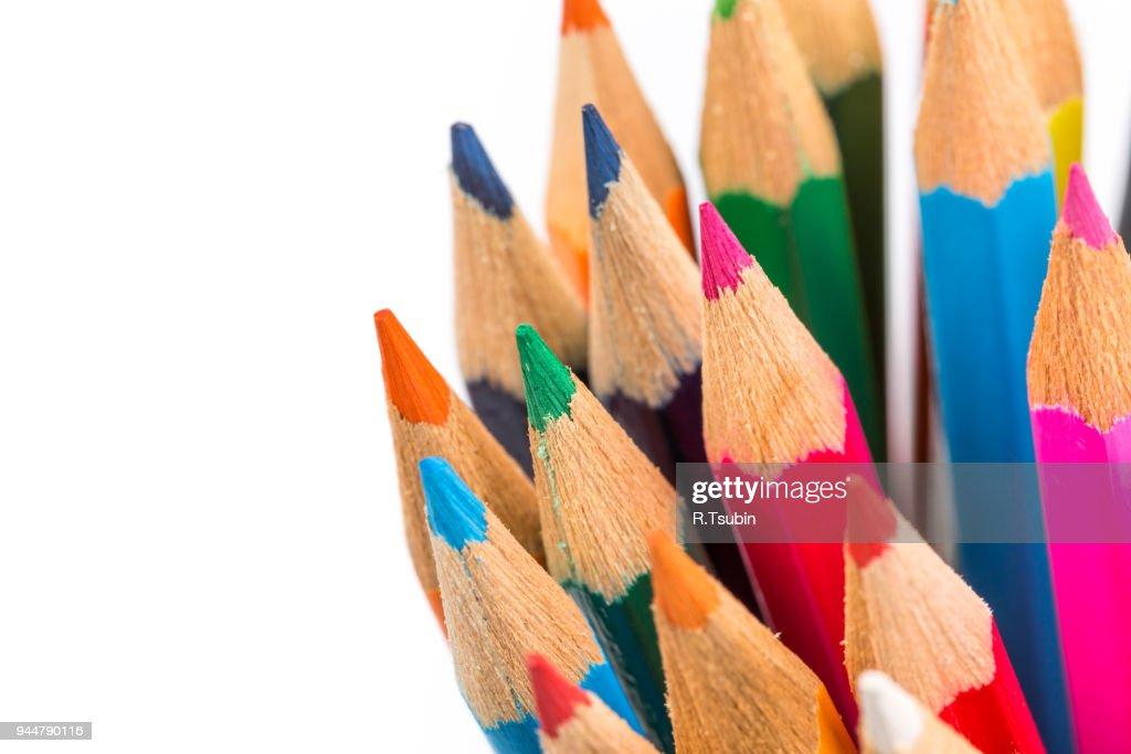 Colour pencils : Stock Photo