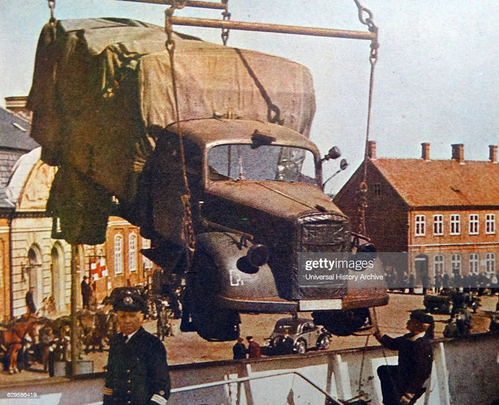 Colour Photograph Of A Opel Blitz Truck During The Second World War News Photo Getty Images