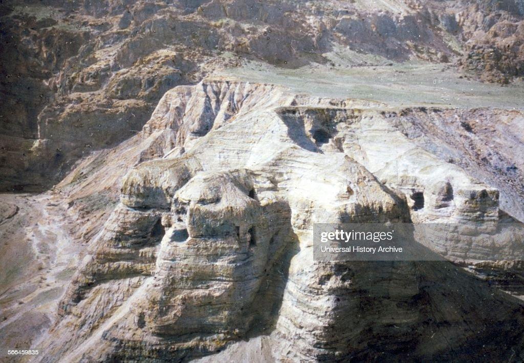 The Caves at Qumran. : News Photo