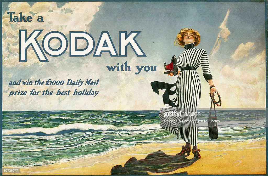 Colour poster produced for Kodak Ltd, showing the 'Kodak