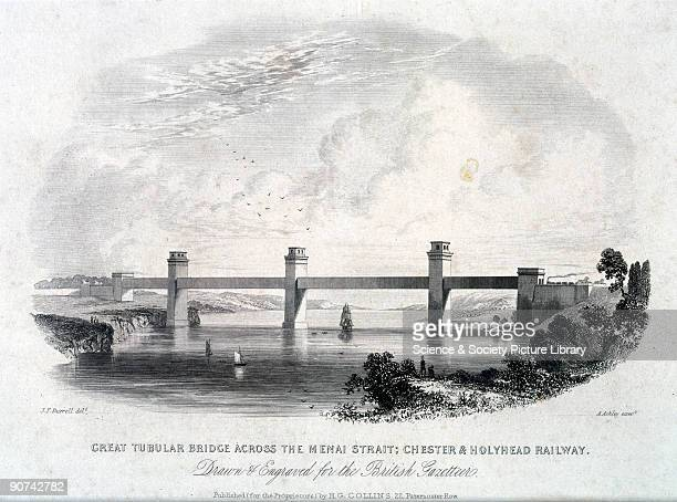 Colour print reproduction by Hutton Hartley Ltd Manchester It is one of a series of twelve reproduction prints of �Historic Railway Bridges and...