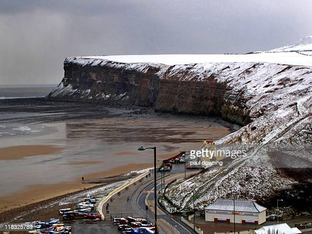 colour void. - saltburn stock photos and pictures