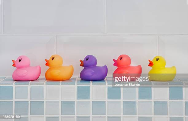 Coloured Rubber Ducks