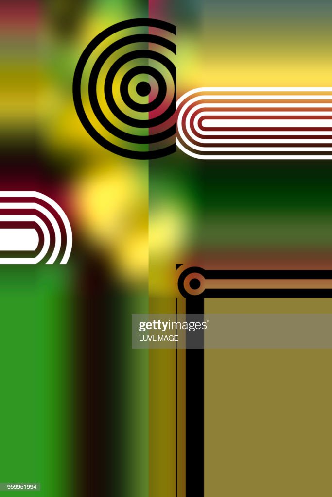 Colourful Abstract. : Stock-Foto